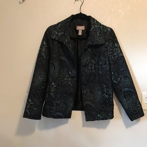 Chico's patterned jacket